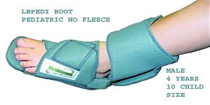 KYDEX-PRO Pediatric Boot Orthosis Velfoam (No Fleece)