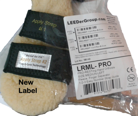 New Strap Label Assistance