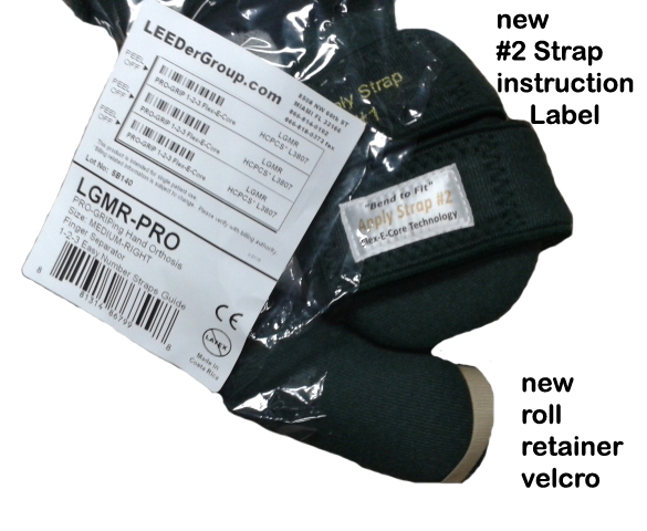 New Pro-GRIP updates - Label & Velcro Retainer