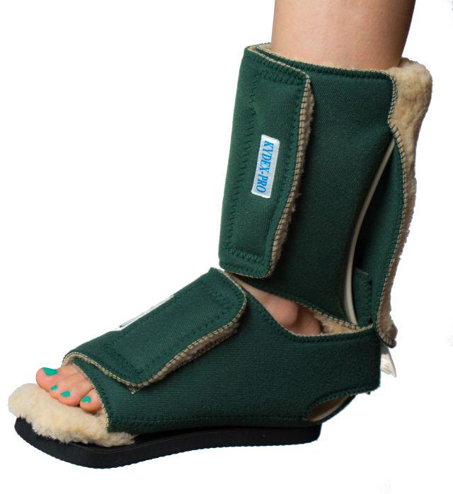 LEEDerGroup.com: KYDEX Pro Multi Podus boot with ambulation pad Prevent Mitigate Heel Ulcers