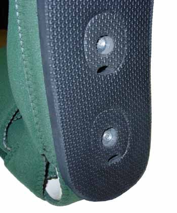 KYDEX-PRO Ambulation Pad Attachment Closeup-Fast Lock